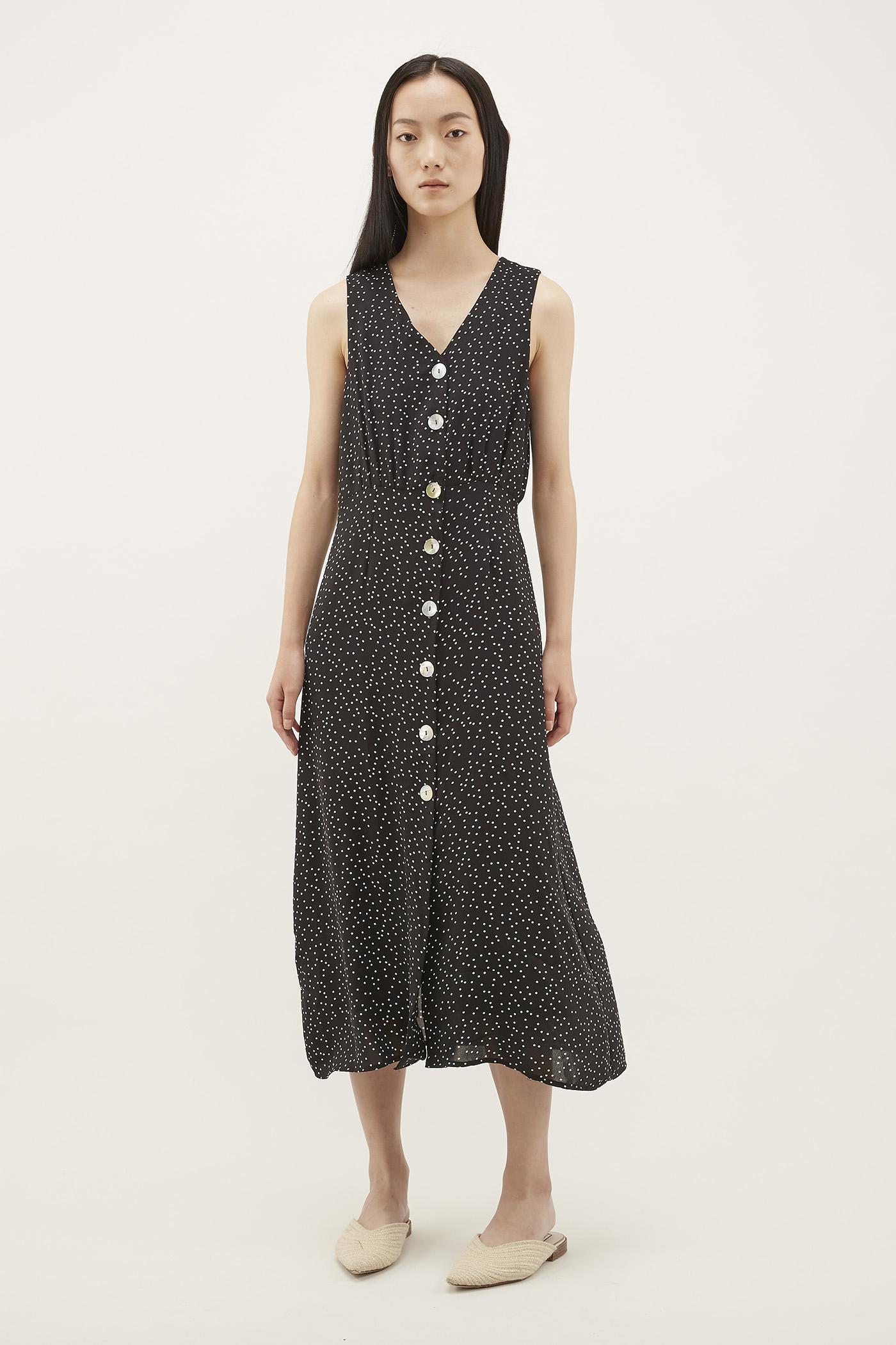 Elodia V-neck Column Dress