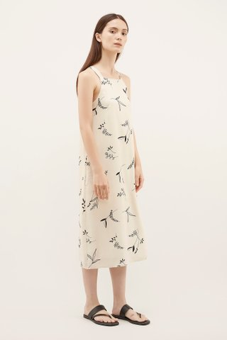 Pimaco Square-Neck Dress