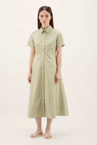 Keiana Maxi Shirtdress