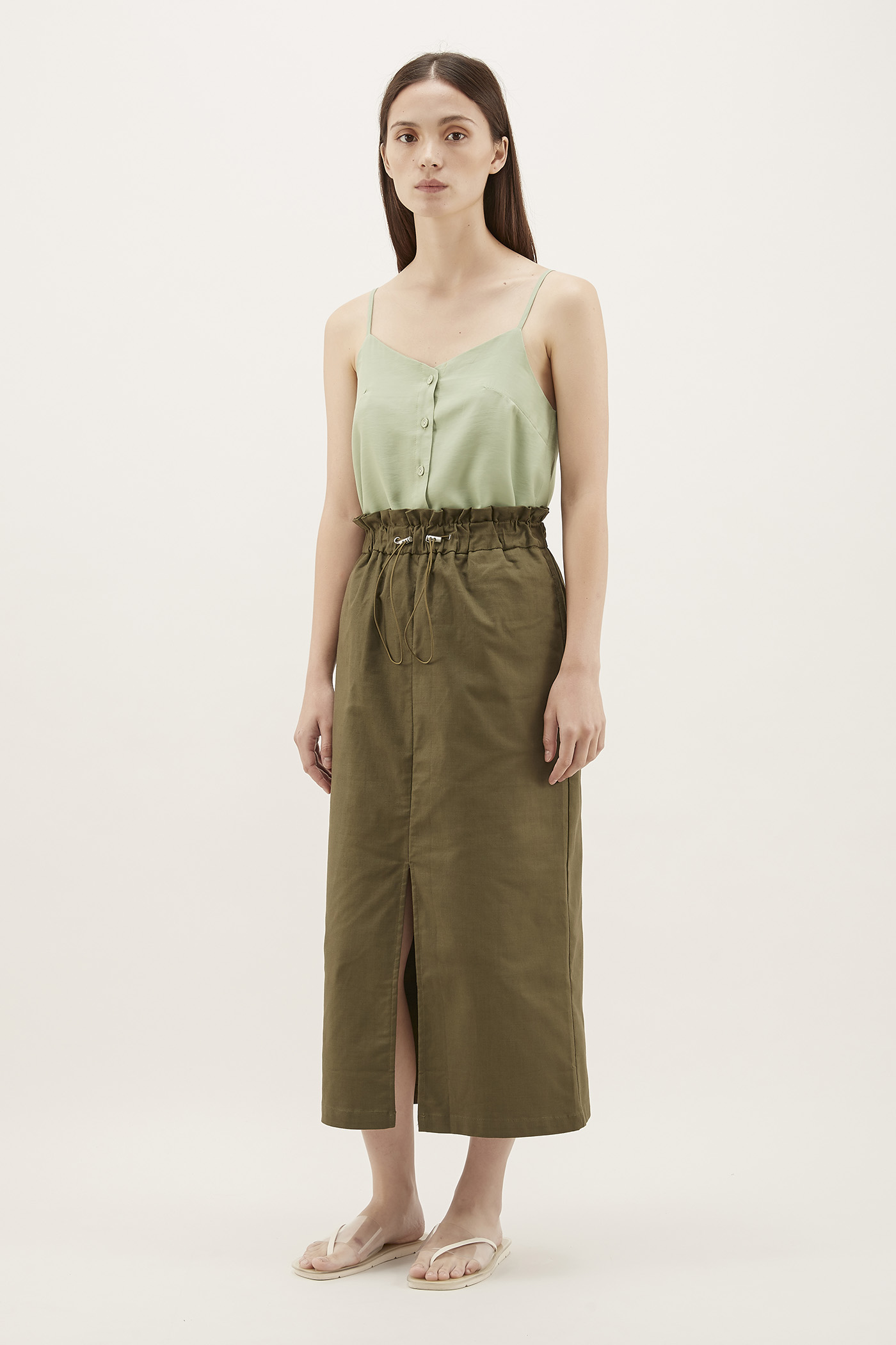 Lakya Button-Through Camisole