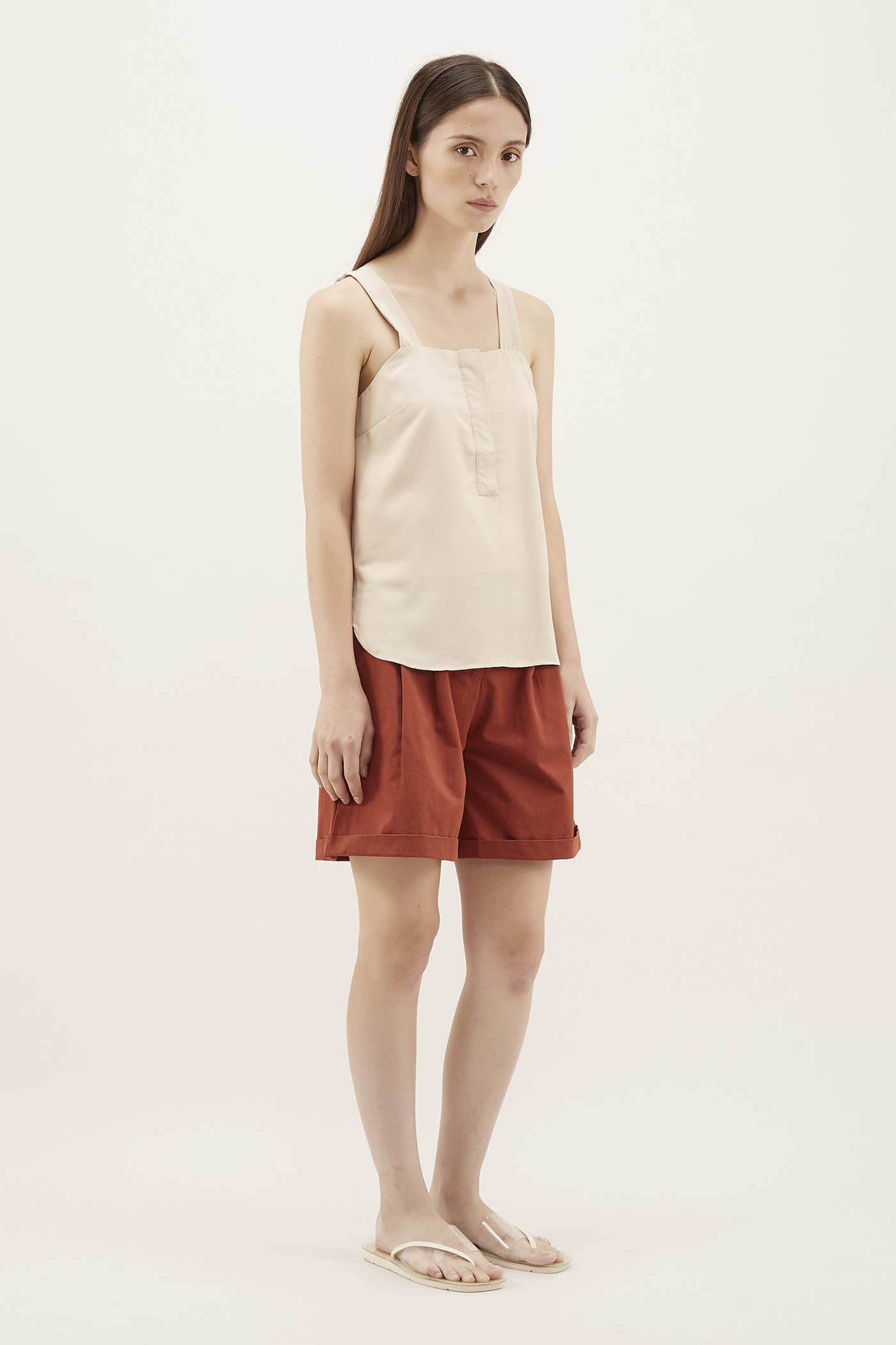 Bevina Square-neck Tank