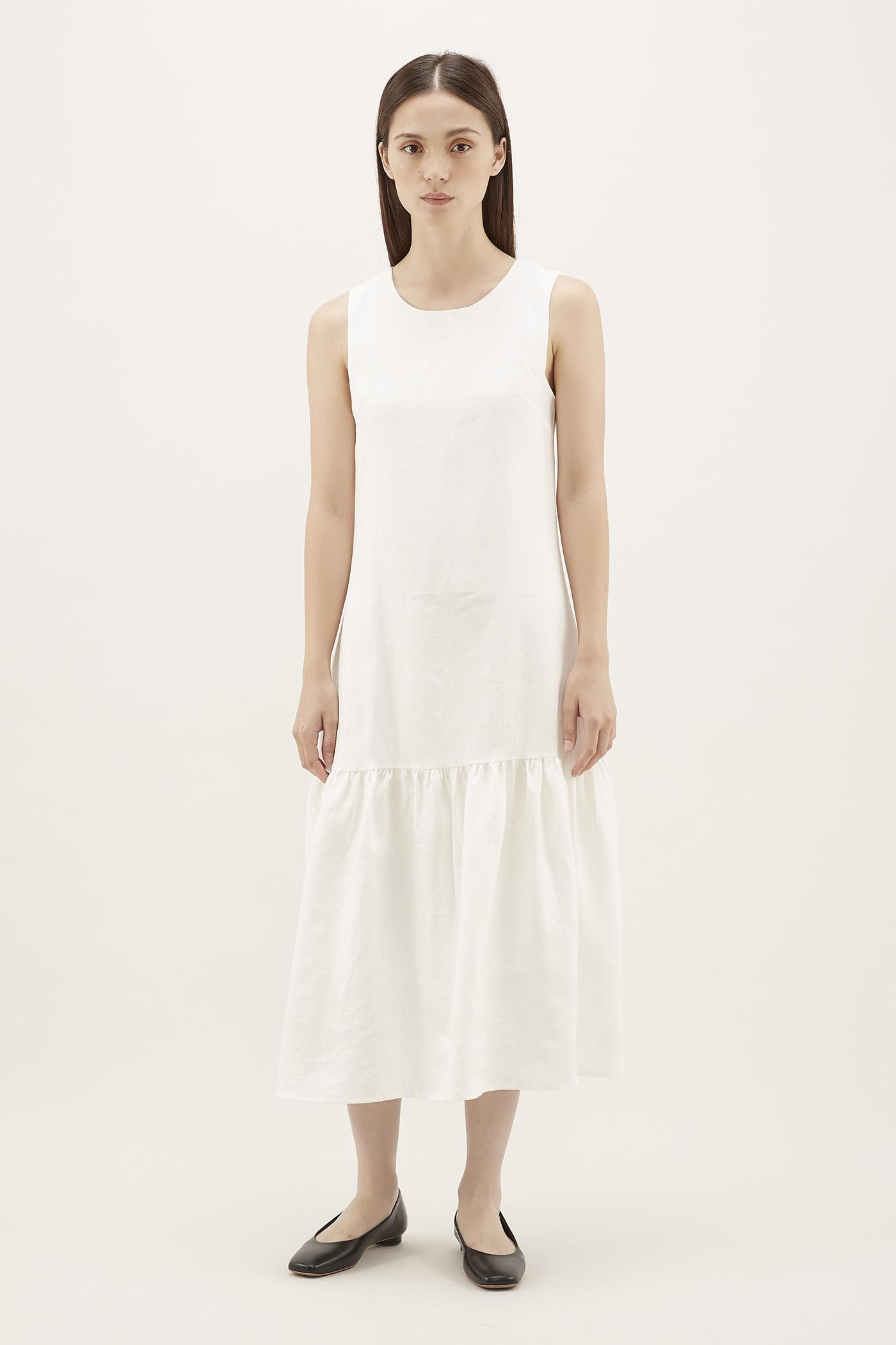 Ailena Drop-waist Dress