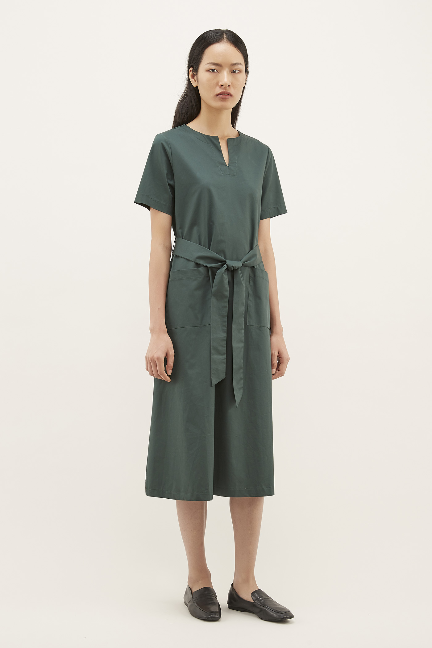Lyzia Notch-neck Dress