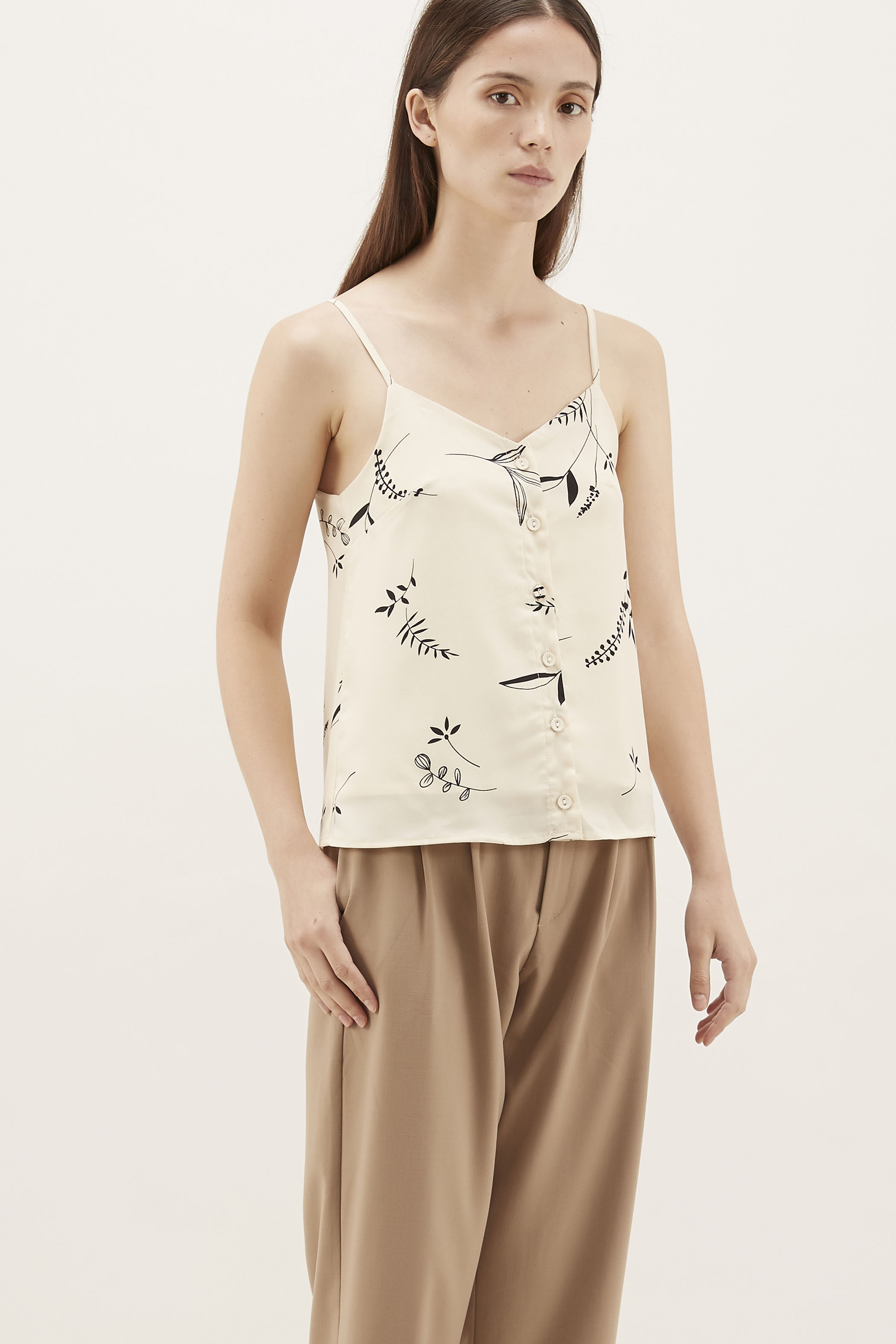Lavia Button-Through Camisole