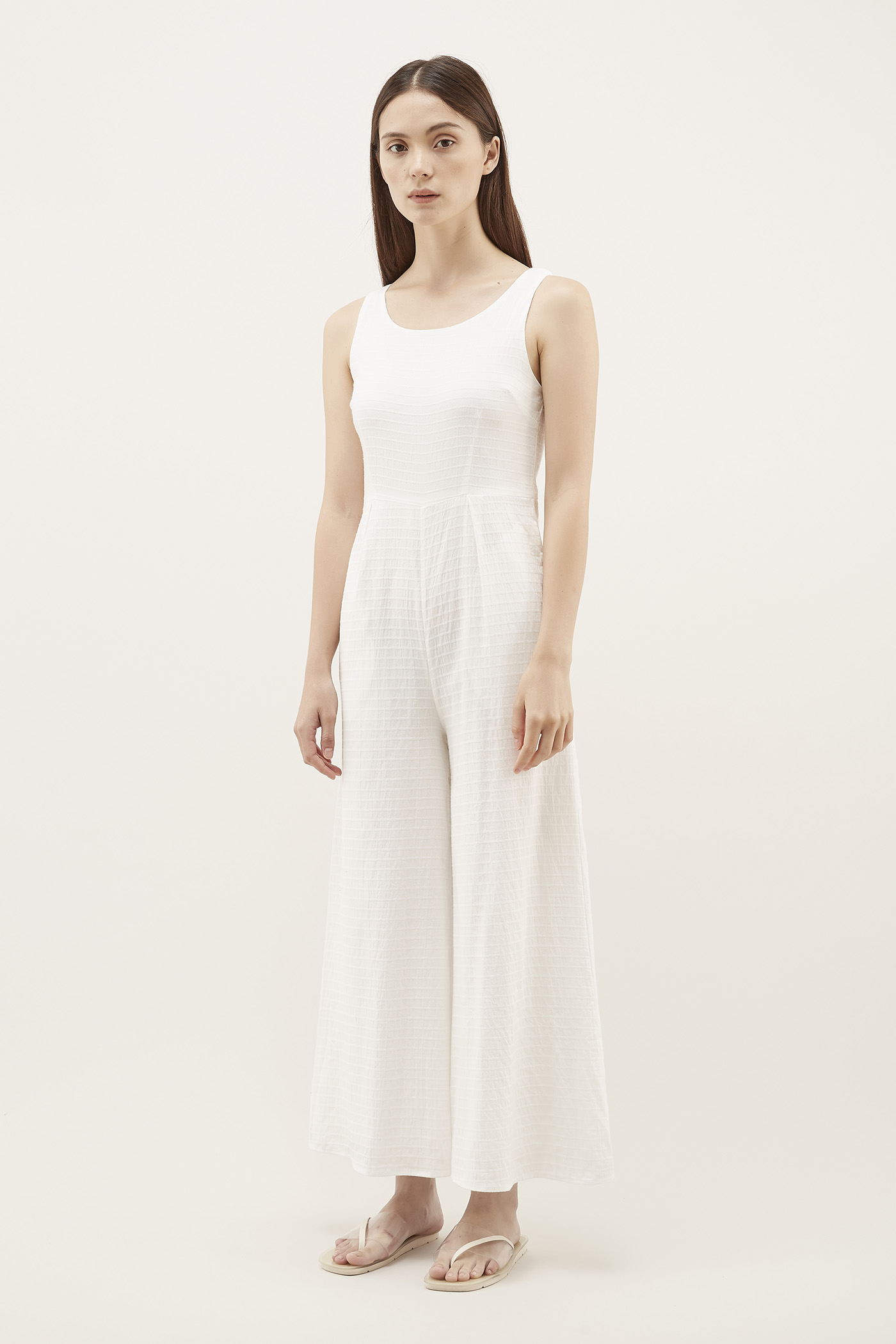 Keigo Textured Jumpsuit