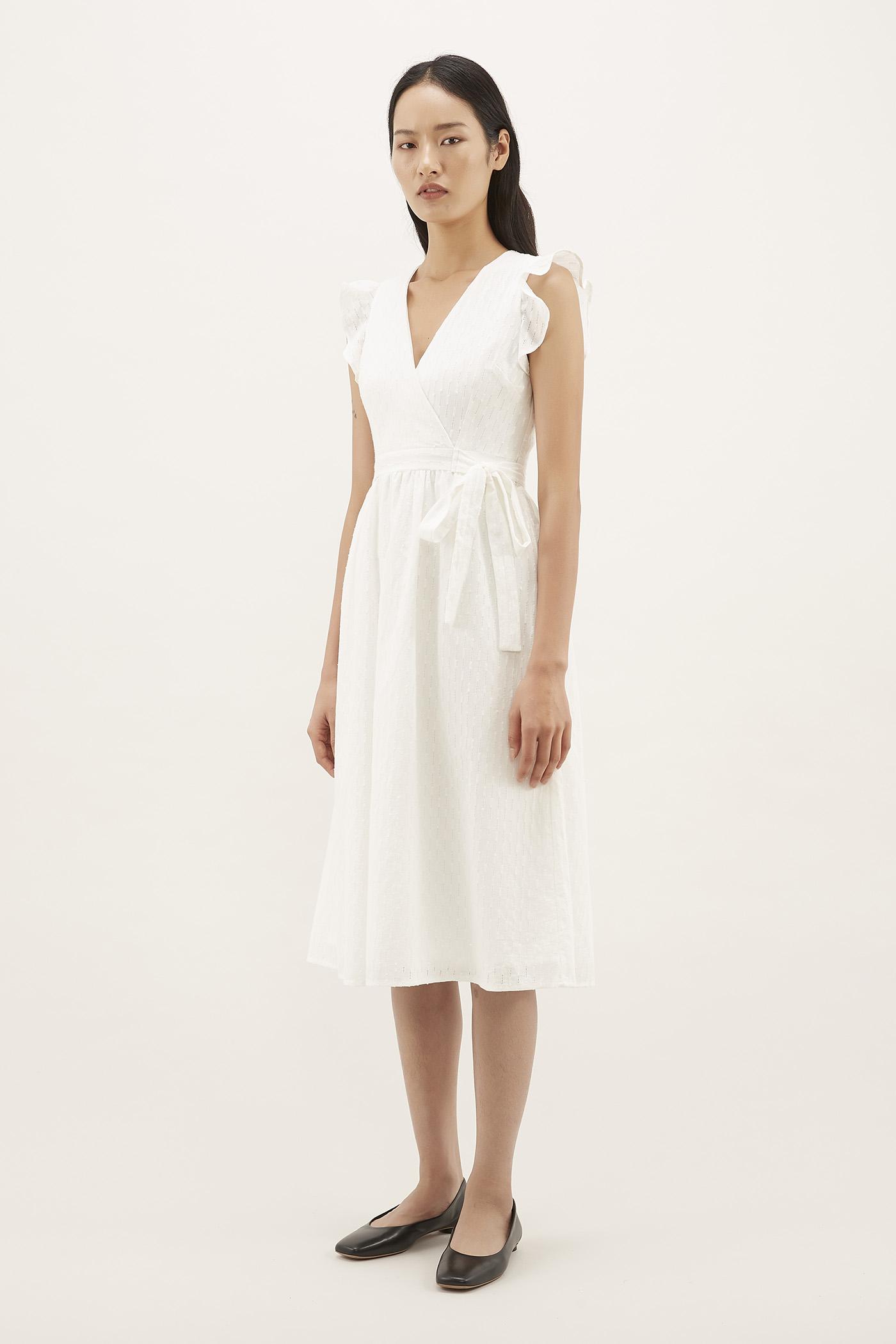 Aldrin Cross-front Dress