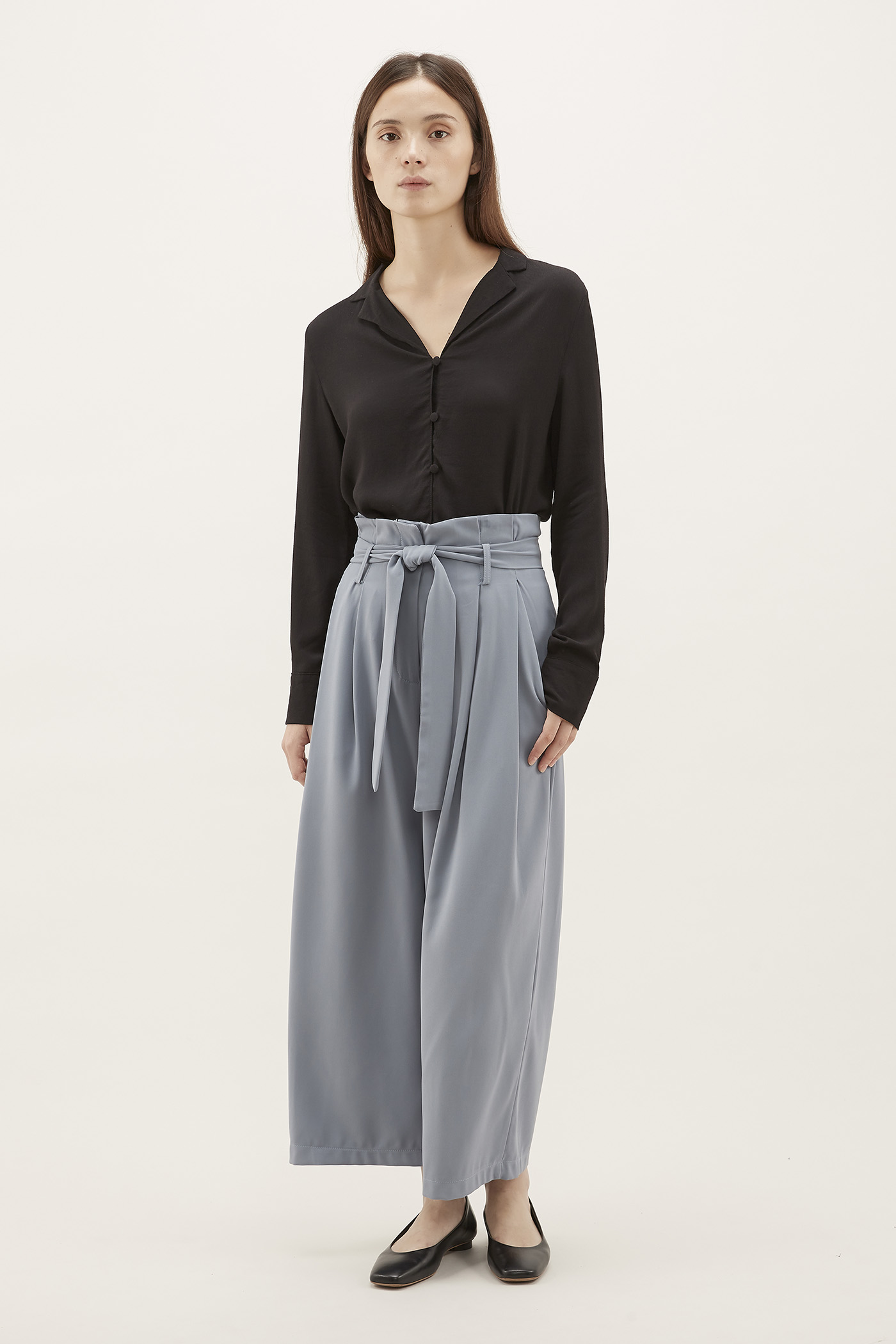 Edrick Gathered-waist Pants