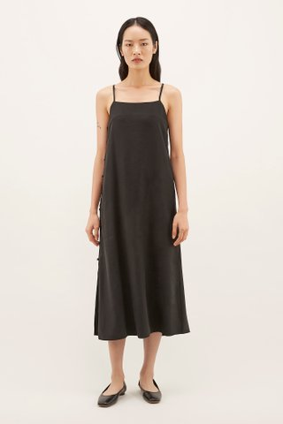 Kyana Side-Button Dress