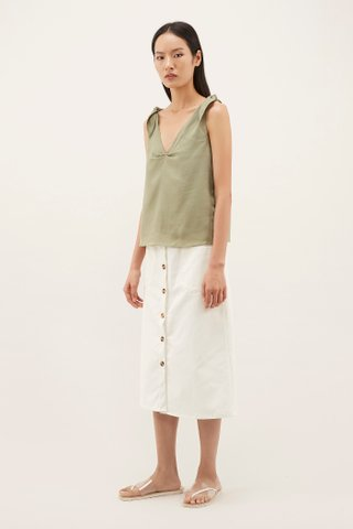 Chaney Tie-Strap Top