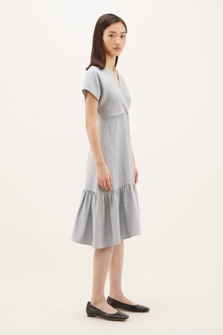 Edrea Drop-hem Dress