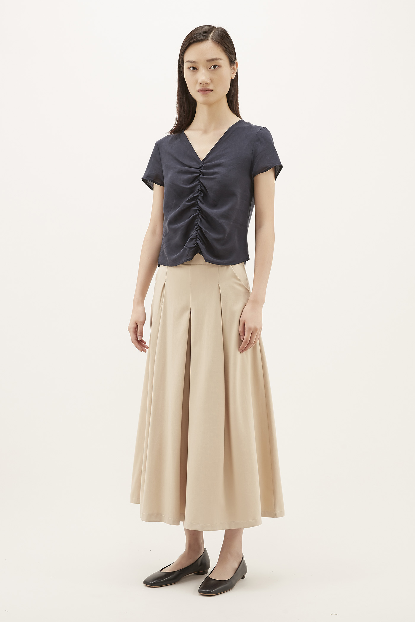 Seble Pleated Pants