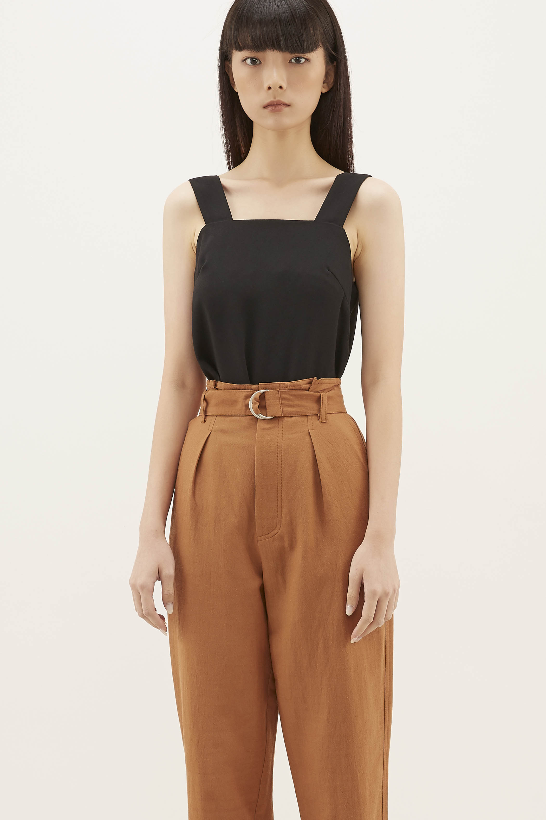 Talesha Square-neck Top