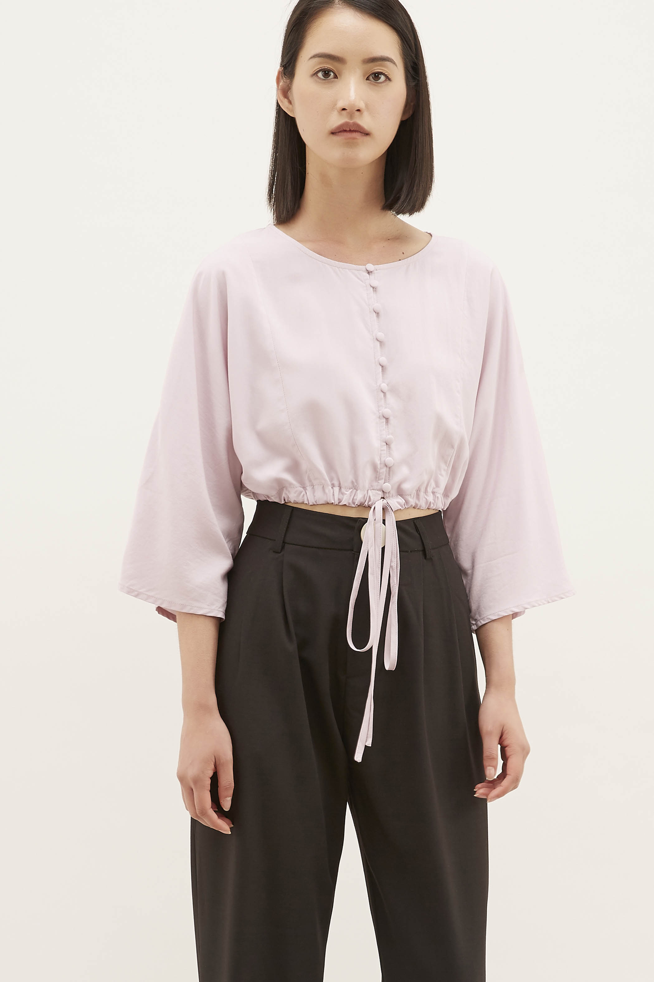 Cailen Wide-sleeved Crop Top