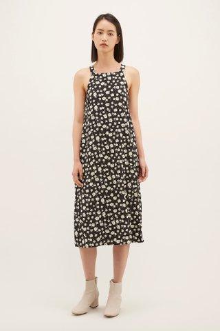 Yeli Bib Midi Dress
