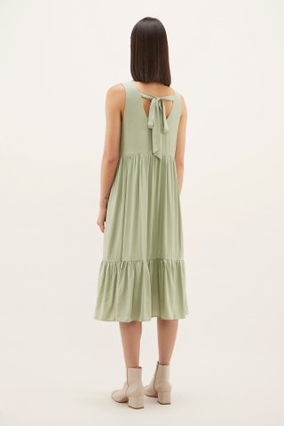 Alexsa Drop-hem Dress