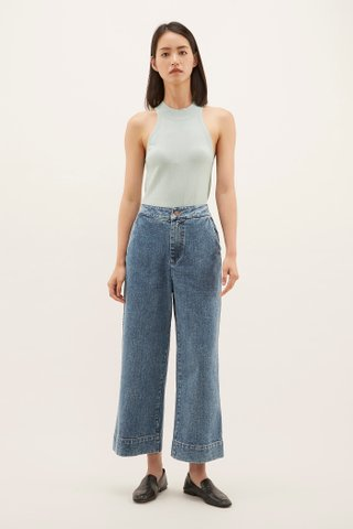 Nolly Ring-neck Knit Top