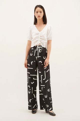 Richa Side-button Pants
