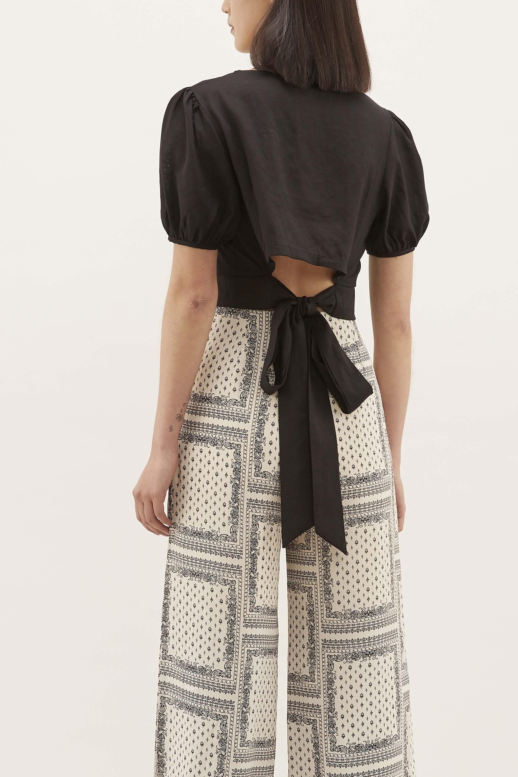 Fenella Back-tie Blouse