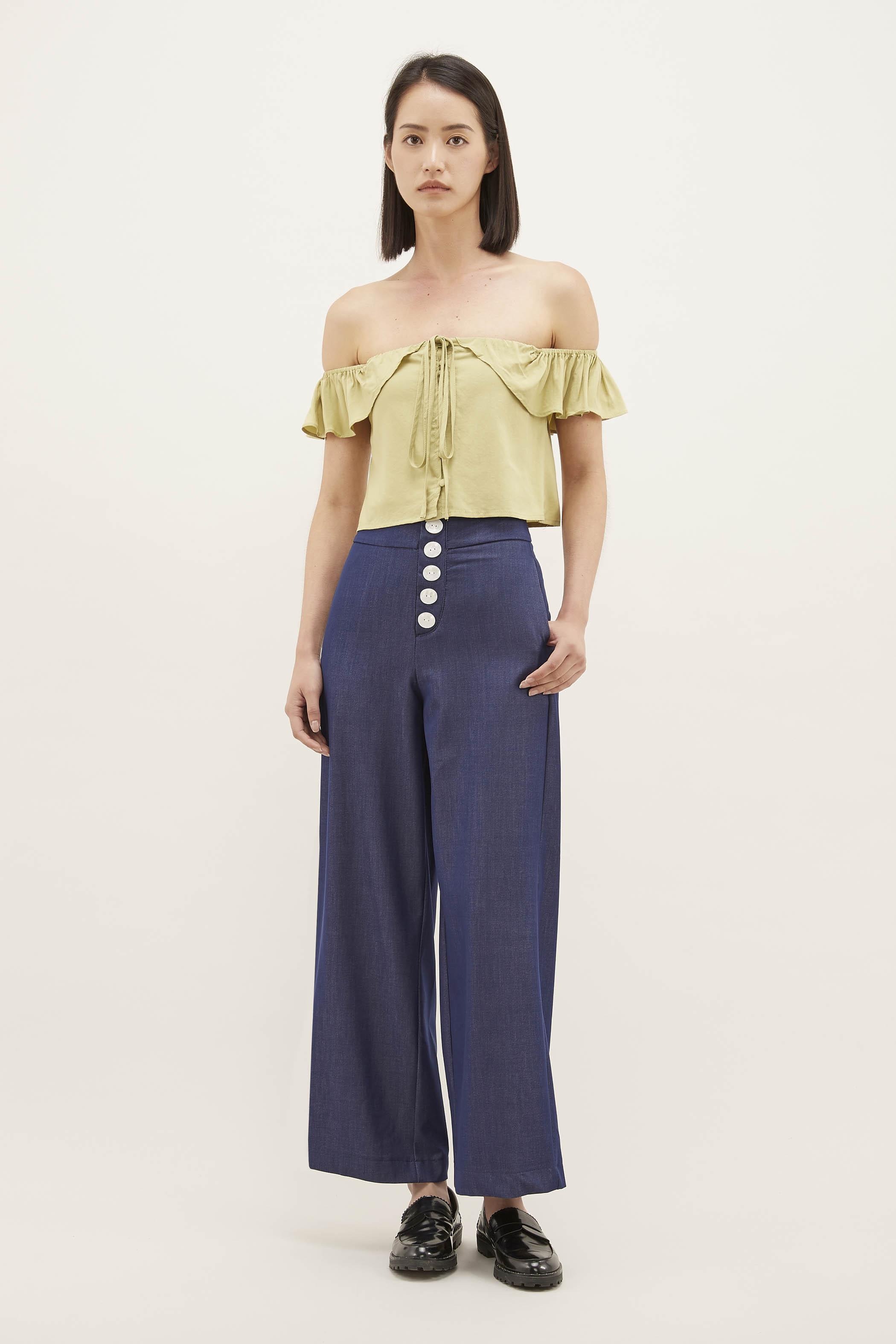 Perlis Wide-leg Pants