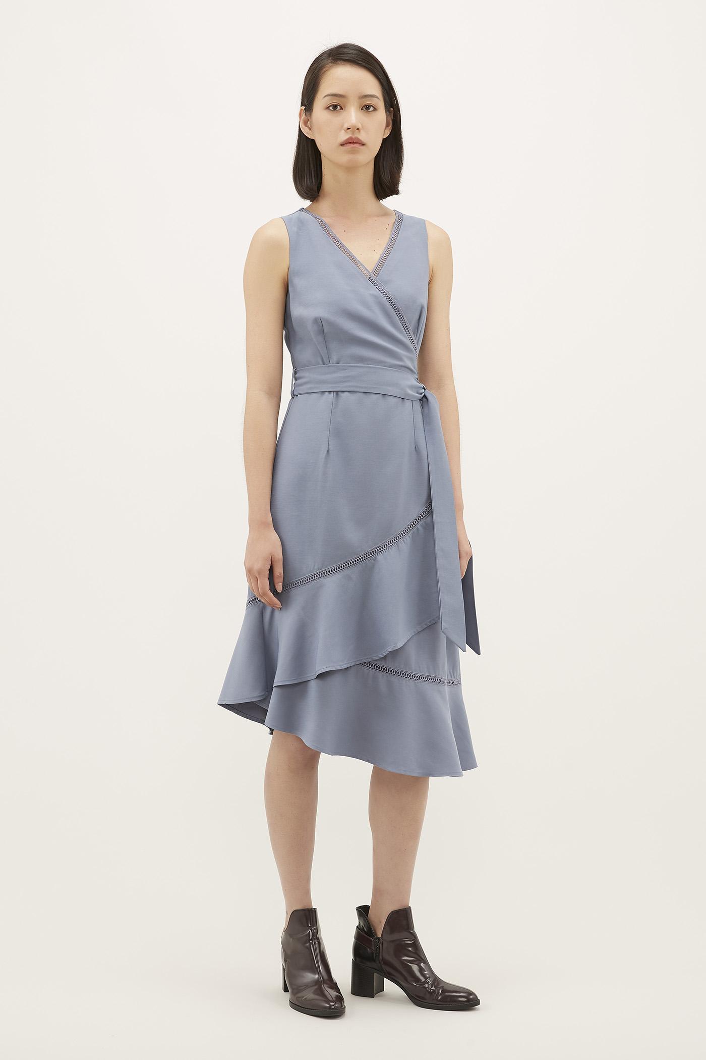 Delisa Layered Dress
