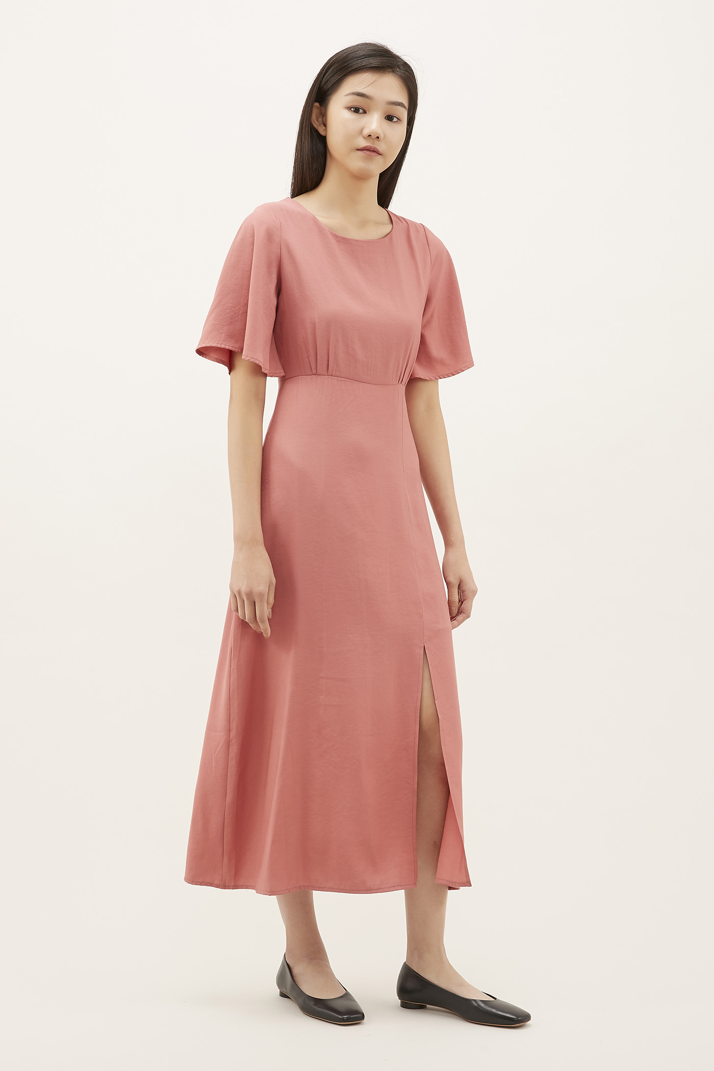 Shelisa Wide-sleeve Maxi Dress