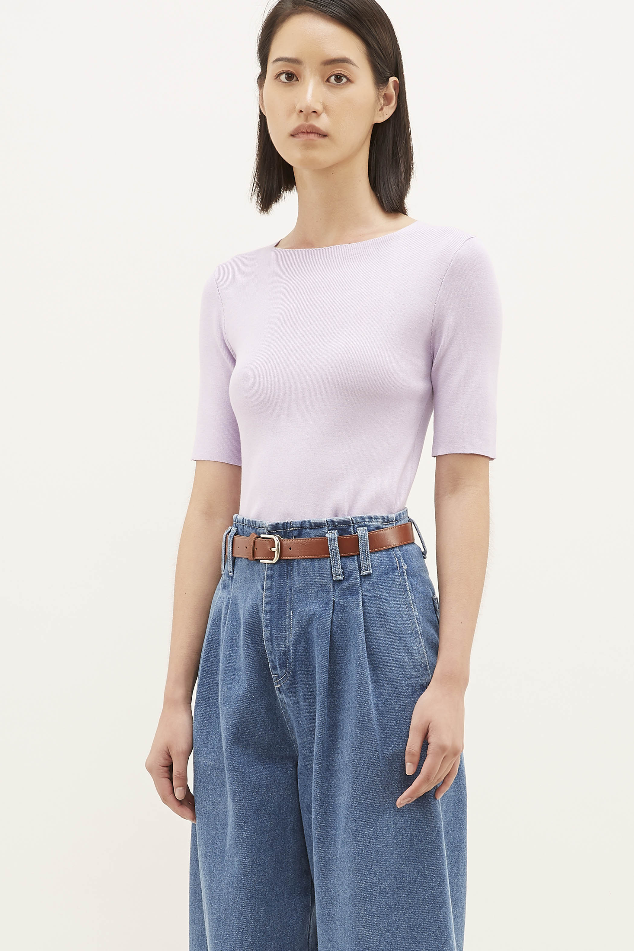 Francine Square-neck Blouse