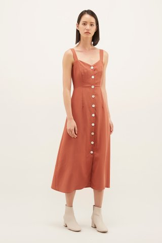 Menora Button-through Dress