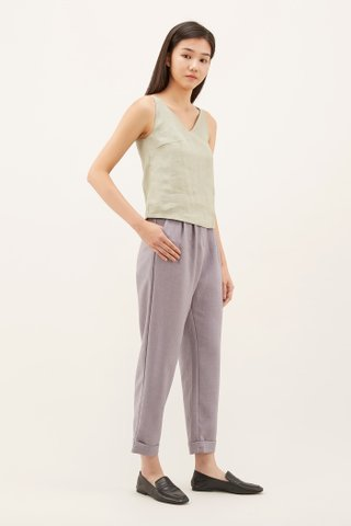 Faiqa V-neck Tank Top