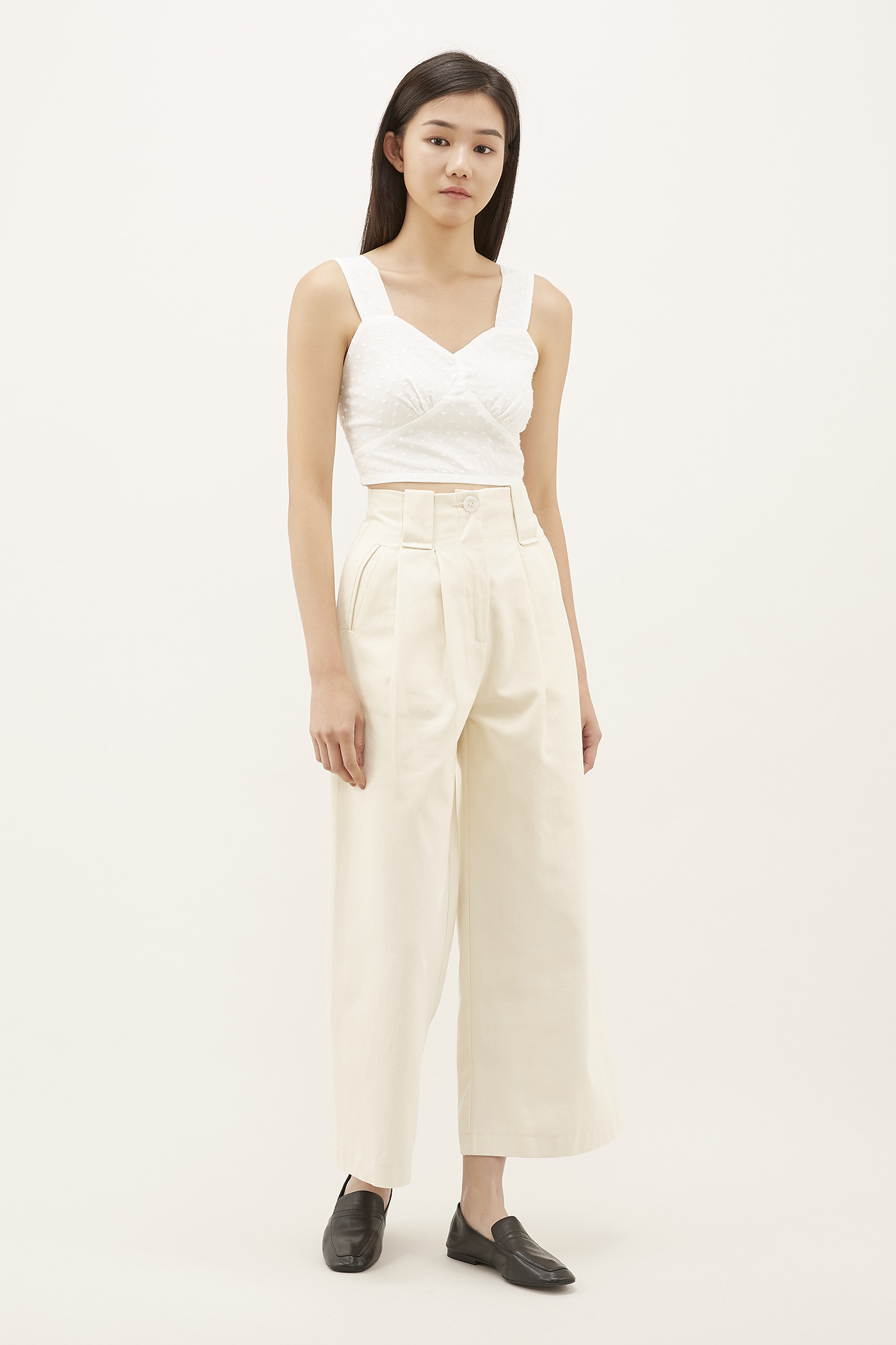 Yovela Wide-pleat Pants