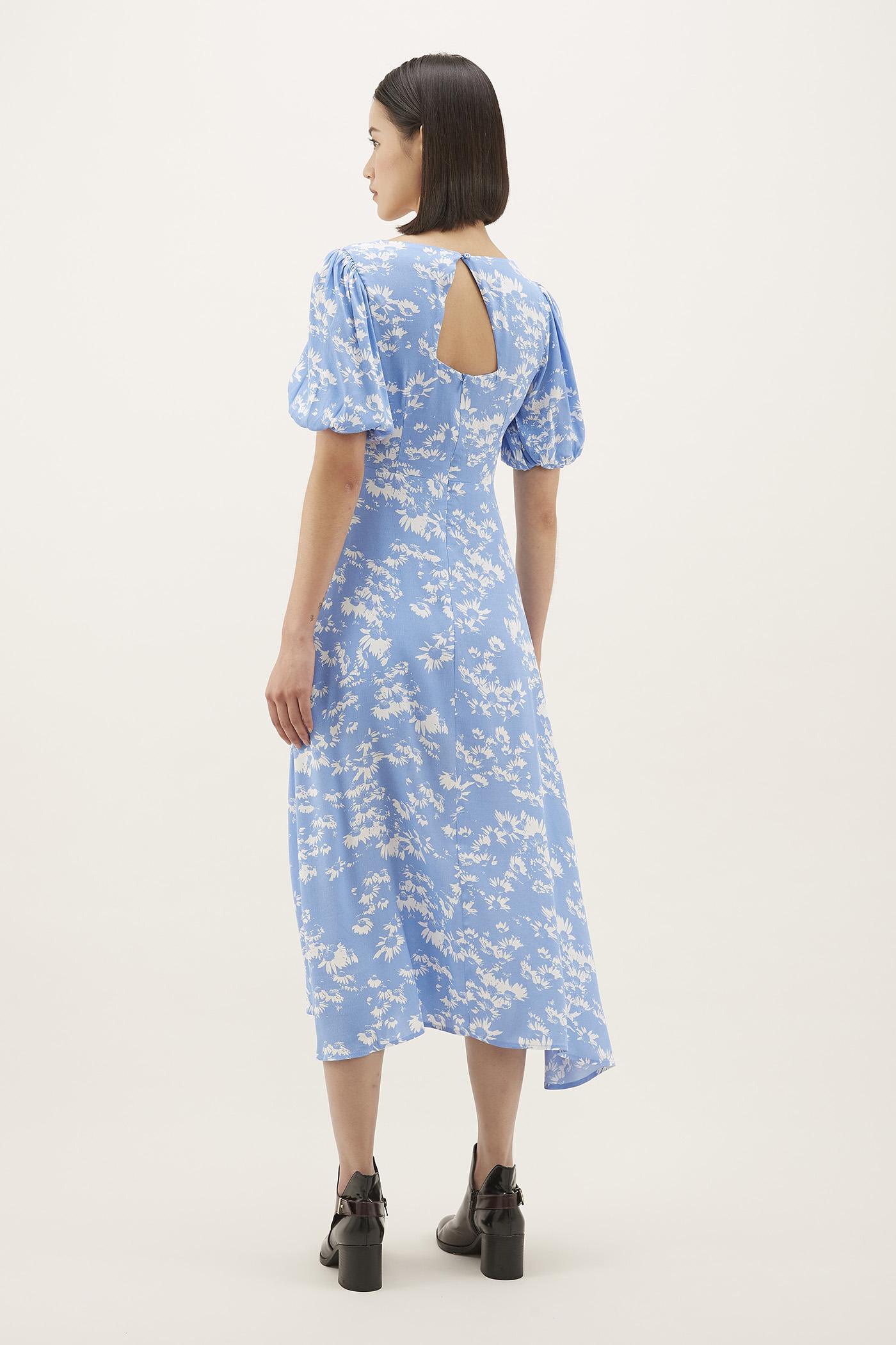 Tressa Cross-front Maxi Dress
