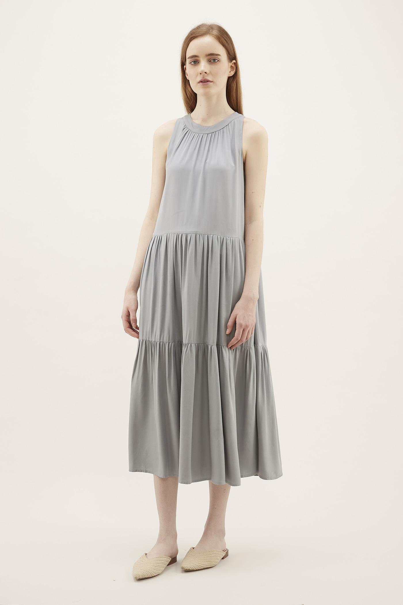 Jesalin Tiered Midi Dress