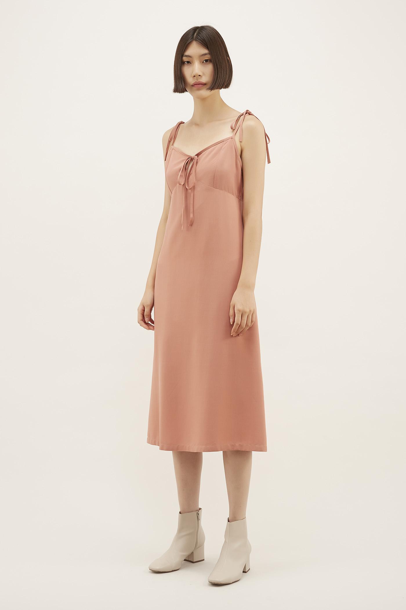 Rheah Strap-tie Slip Dress