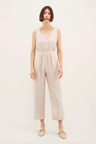 Lavena Button Jumpsuit