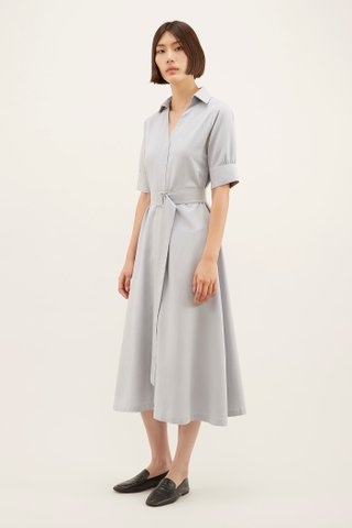 Dameeca Belted Shirtdress