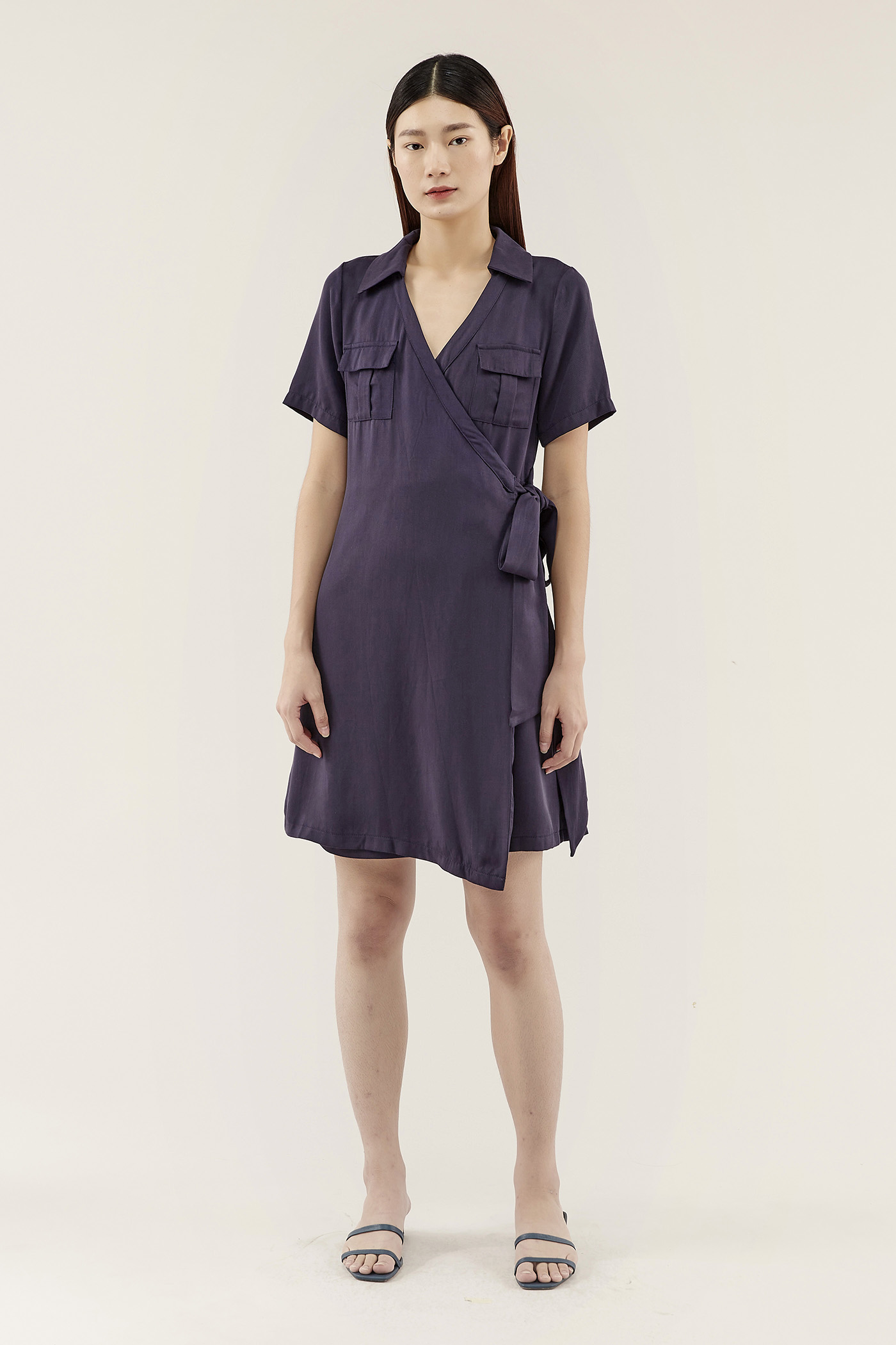 Colwin Wrap Shirtdress