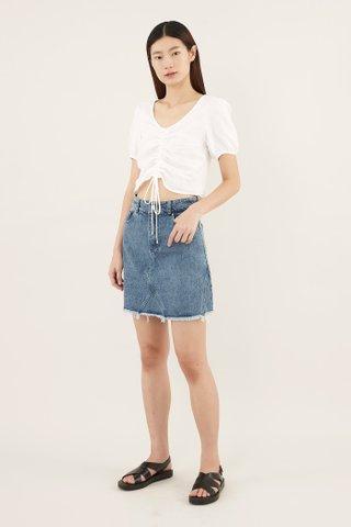 Liona Denim Mini Skirt