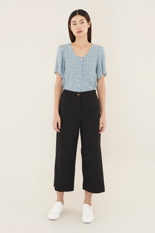 Erline Patch-pocket Pants