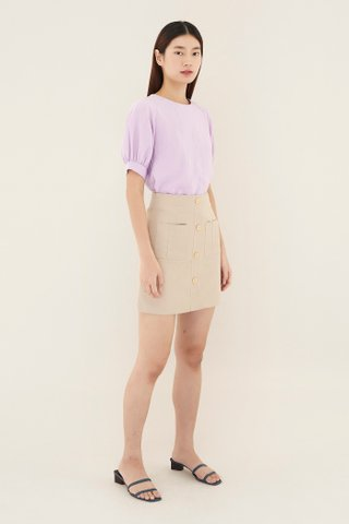 Elsha Patch Pocket Skirt