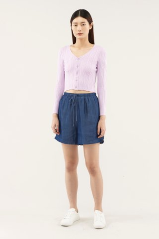 Ruana Drawstring Shorts