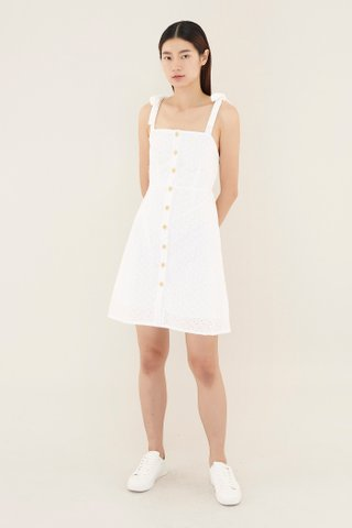 Lisanne Broderie Mini Dress