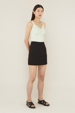 Olisa Side-button Skirt