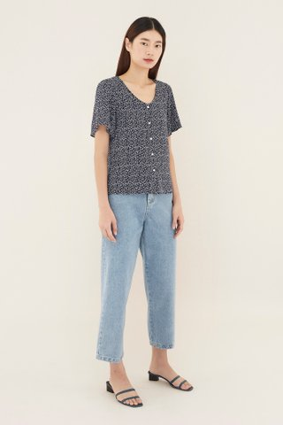Trinisa V-neck Blouse