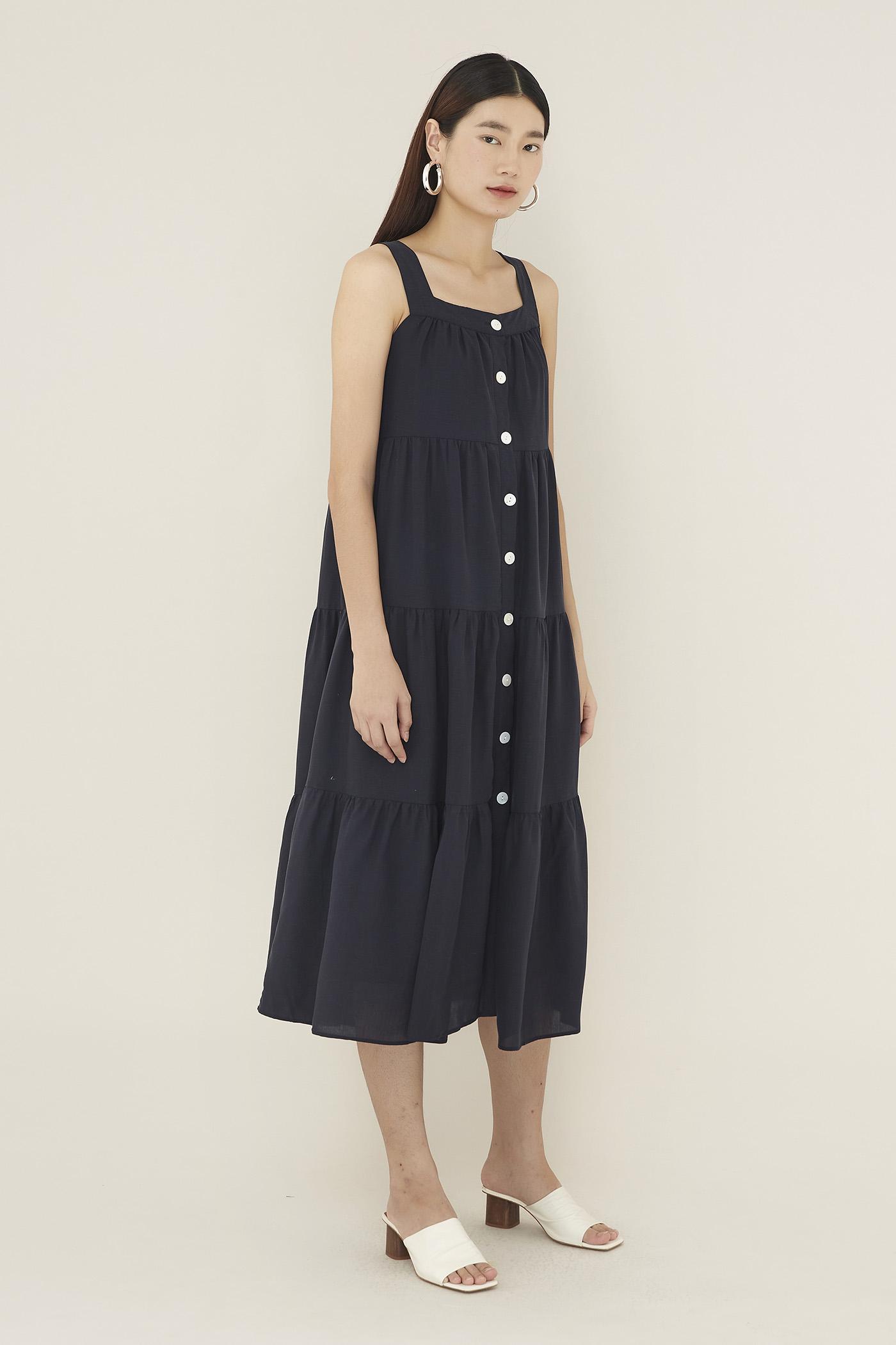 Nevin Tiered Maxi Dress