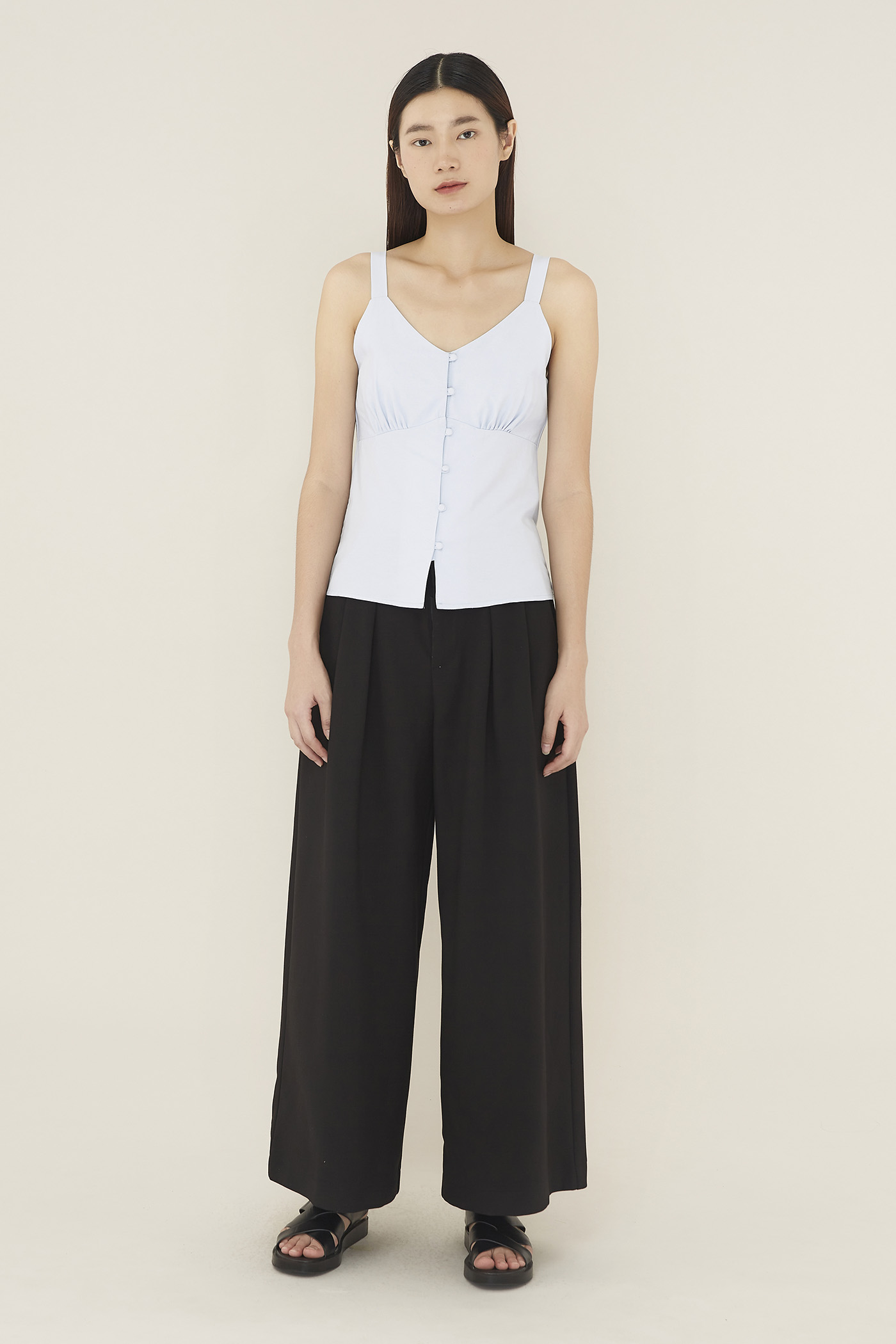 Carlin Button-through Top