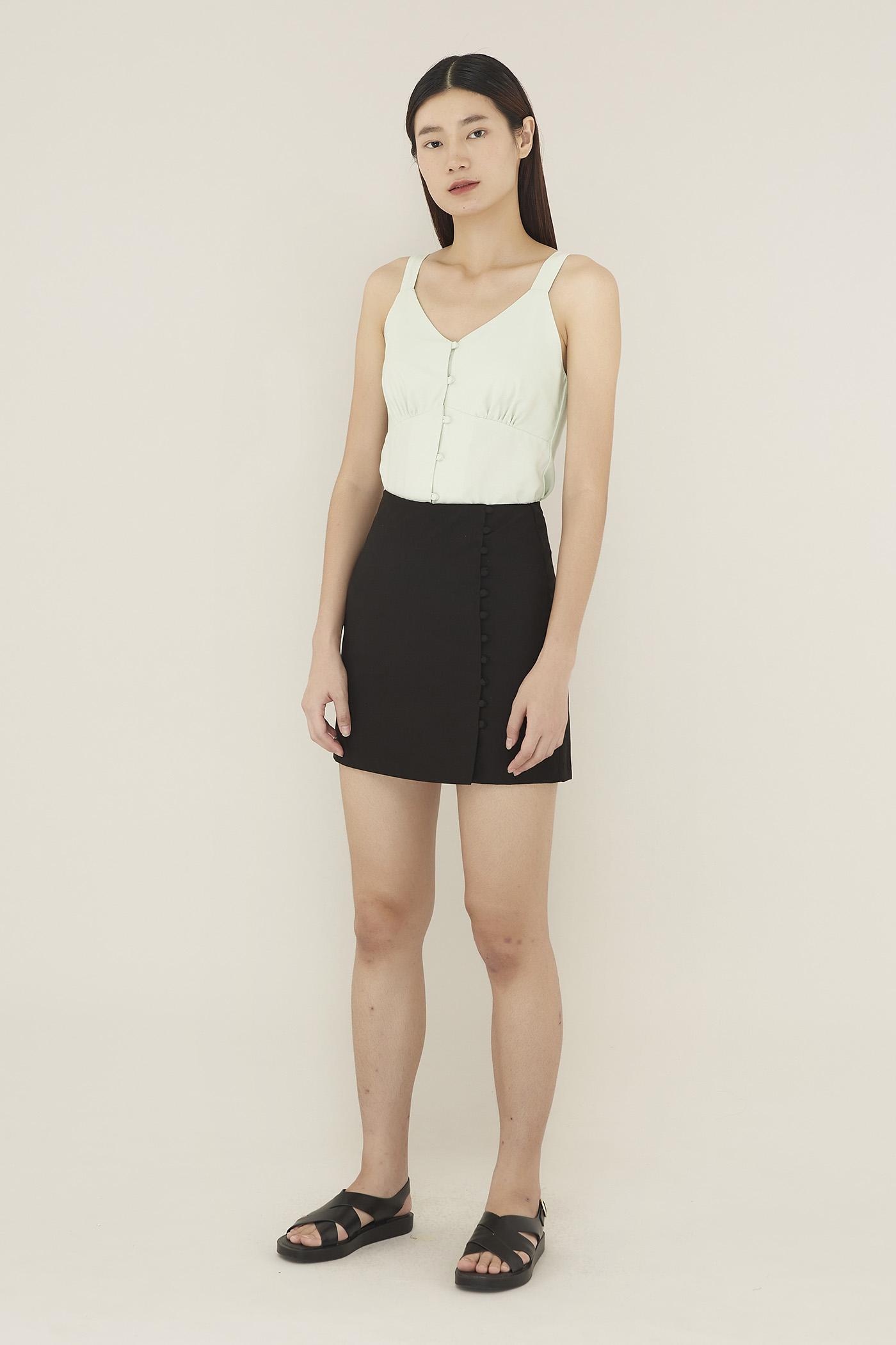 Olisa Side-button Skirt