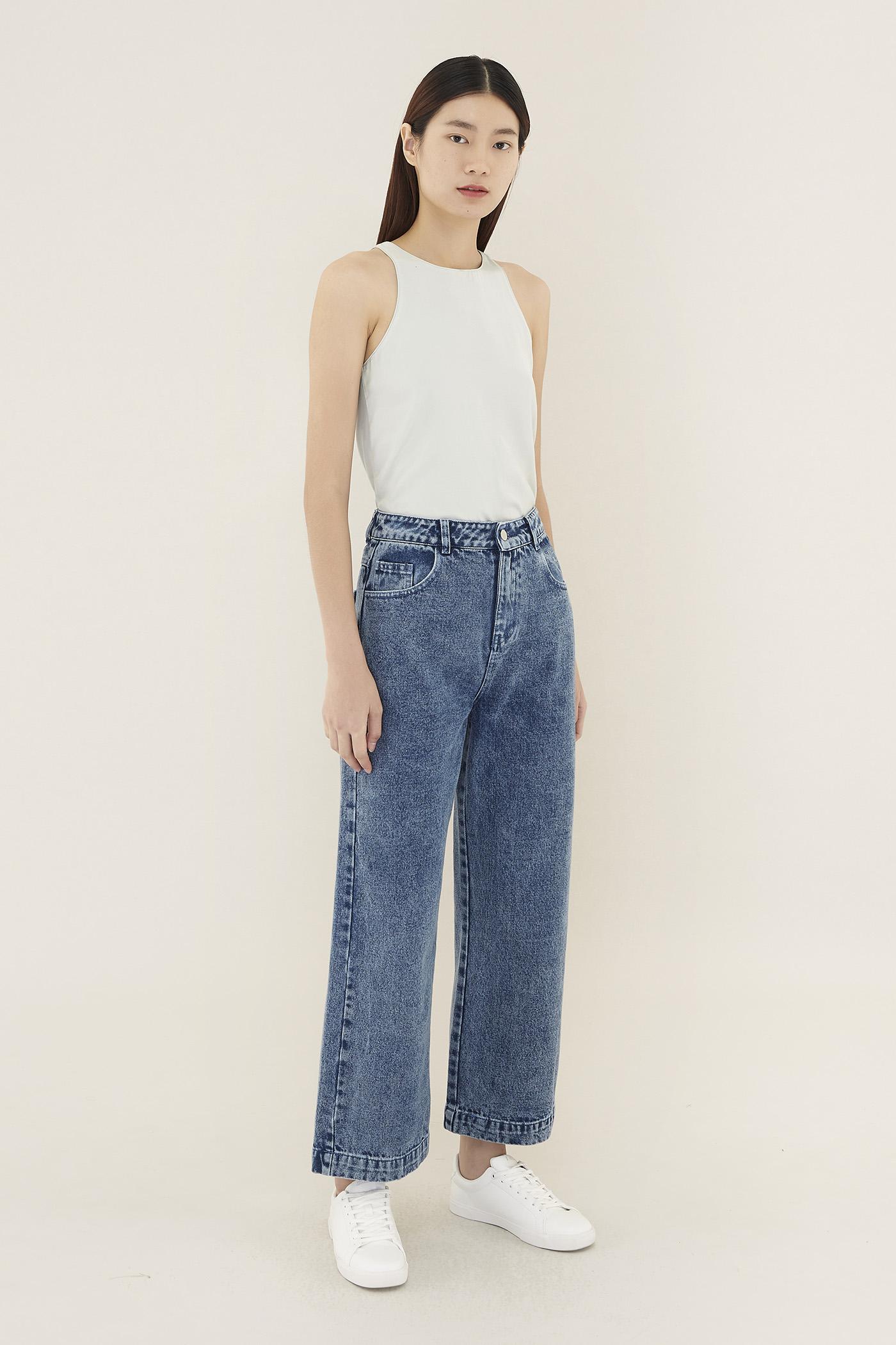 Lien Wide-leg Jeans