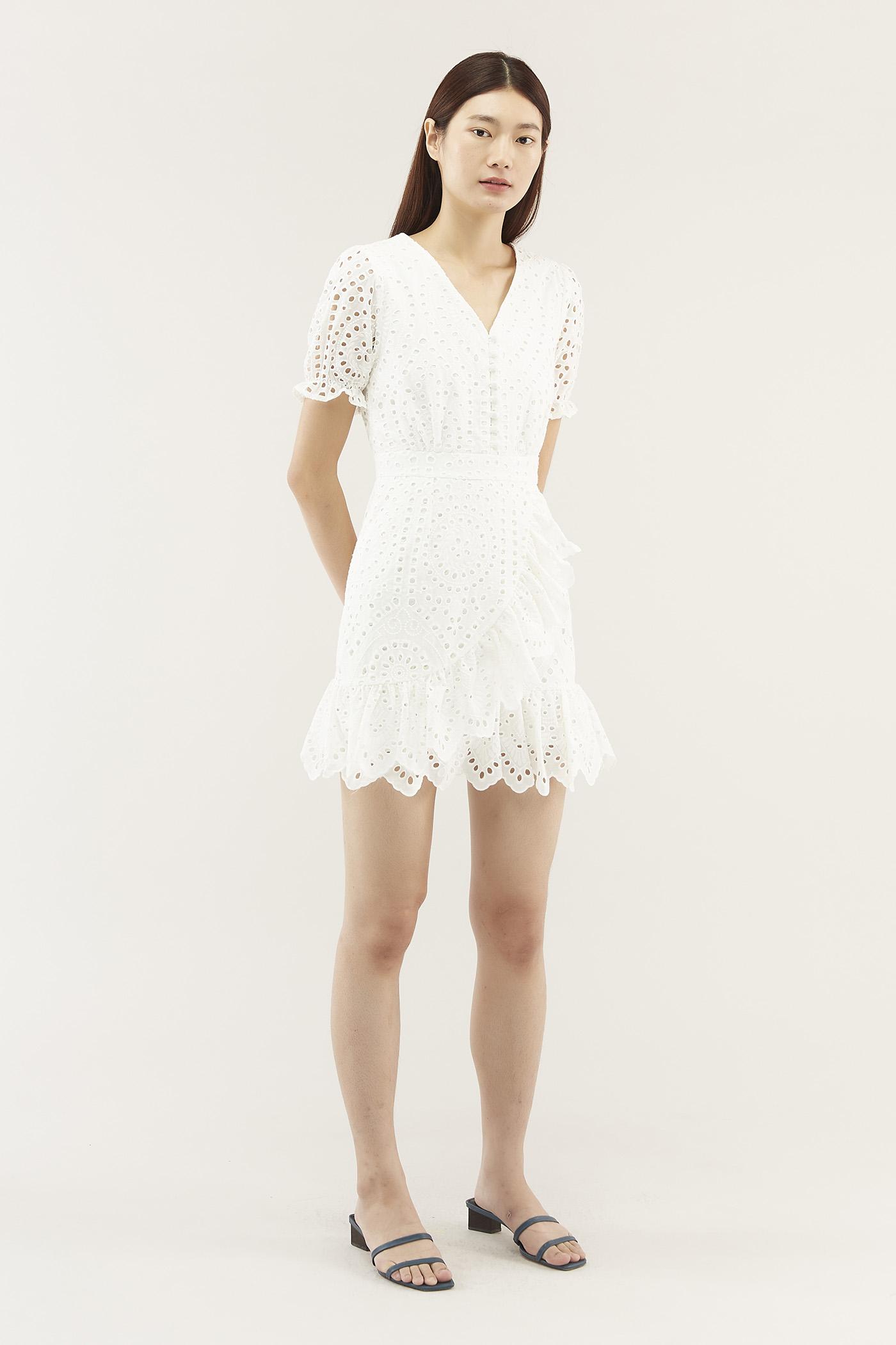 Arynne Broderie Dress