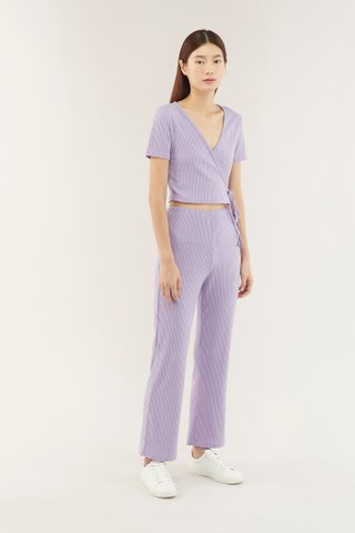 Zelma Ribbed Pants