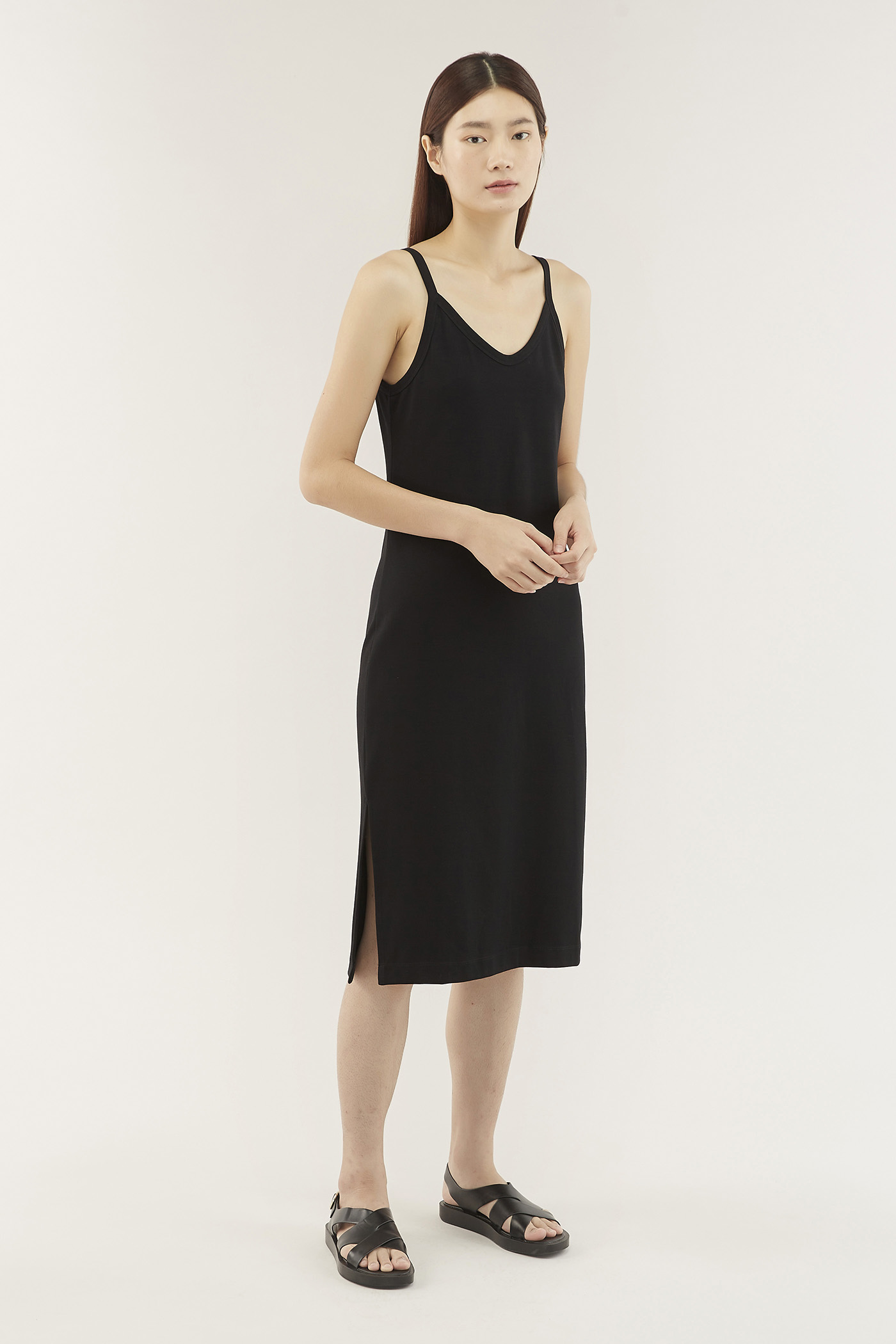 Alecia V-neck Tank Dress