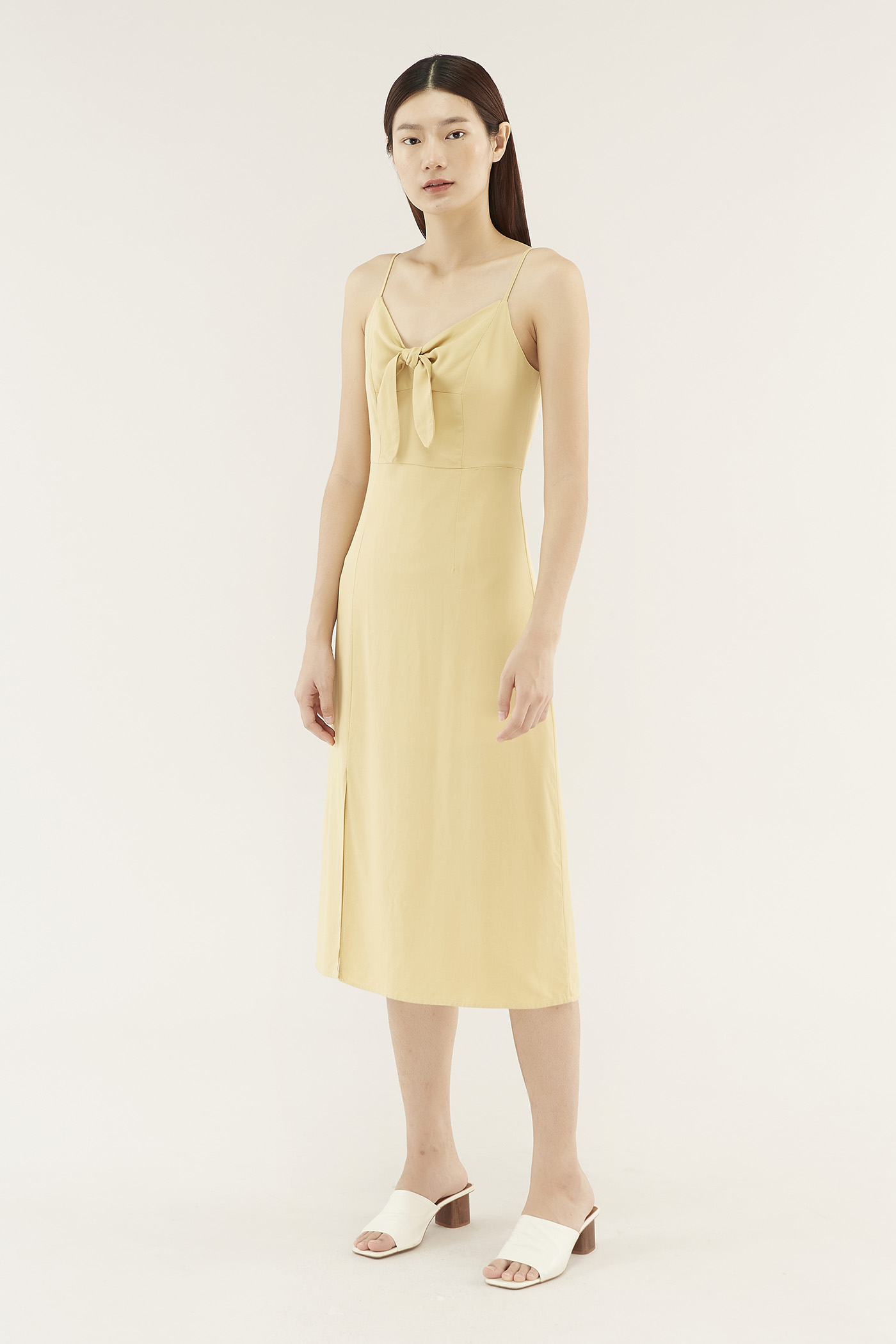 Daisey Front-tie Dress